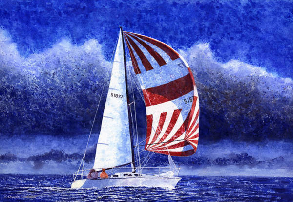 Painting - Racing The Storm by Douglas Castleman