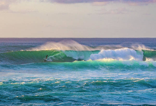 Photograph - Racing The Wave by Anthony Jones