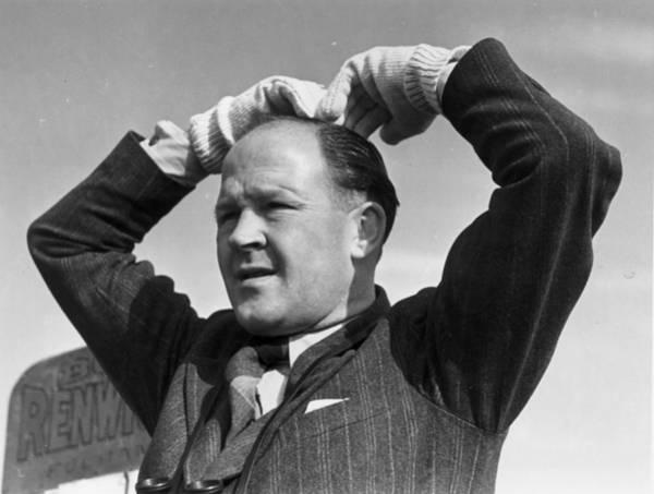 Gesturing Photograph - Racing Tic-tac by Bert Hardy