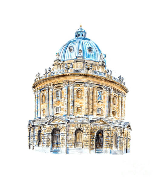 Photograph - Radcliffe Camera by Elizabeth Lock