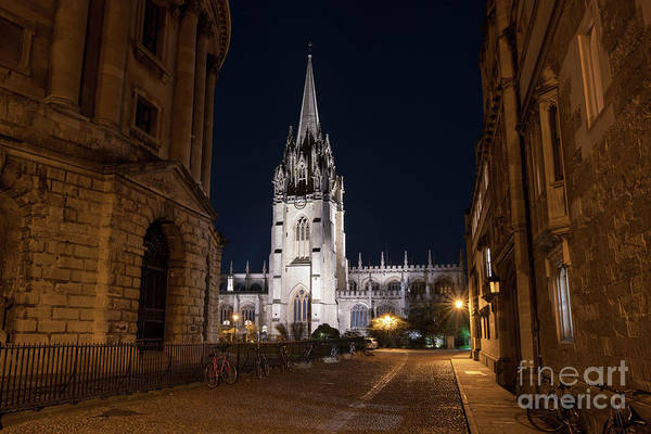 Wall Art - Photograph - Radcliffe Square Oxford At Night by Tim Gainey
