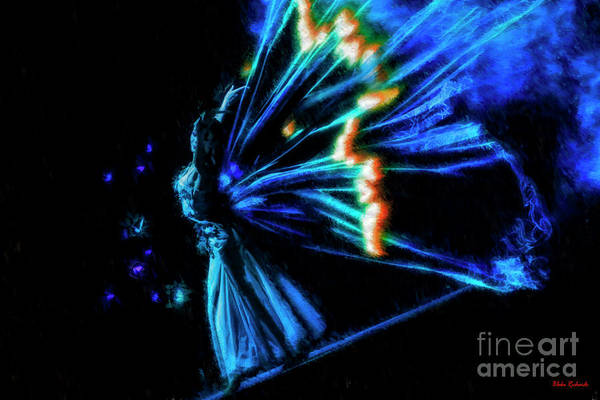 Photograph - Radiant Butterfly Dance by Blake Richards