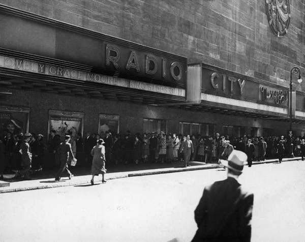 Radio City Music Hall Photograph - Radio City Music Hall by Frederic Lewis
