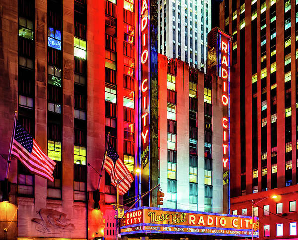 Photograph - Radio City Music Hall by Miles Whittingham