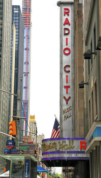 Wall Art - Photograph - Radio City Music Hall by Mitch Cat