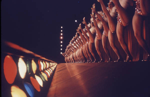 Rockettes Photograph - Radio City Music Hall Rockettes by Art Rickerby