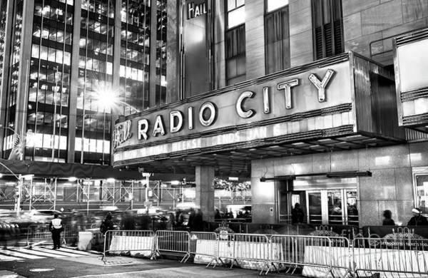 Photograph - Radio City Nights New York City by John Rizzuto