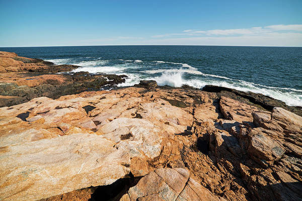 Photograph - Rafe's Chasm Gloucester Ma North Shore Ocean by Toby McGuire