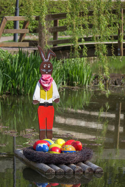 Wall Art - Photograph - Rafting Easter Bunny by Teresa Mucha