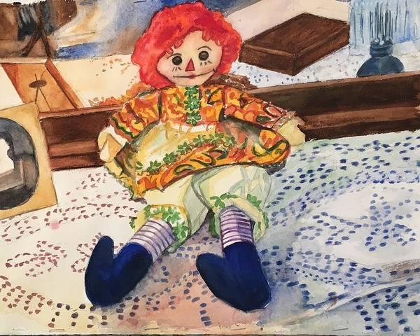 Raggedy Annie Art Print
