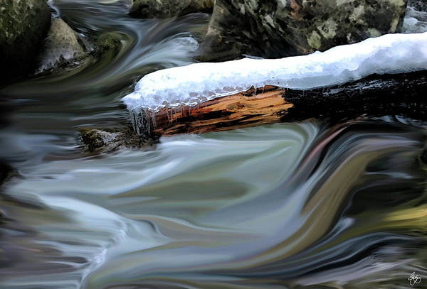 Photograph - Raging Currents Of Emotion by Wayne King