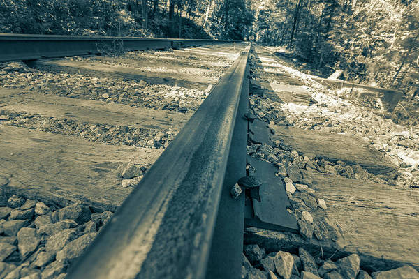 Photograph - Rail Away  by Keith Smith