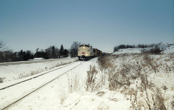 Photograph - Rail Freight Transport by Nick Mares