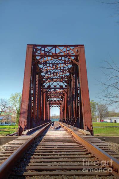 Wall Art - Photograph - Railroad Bridge by Sharon McConnell