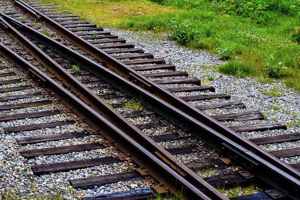 Wall Art - Photograph - Railroad Tracks  by Edward Garey