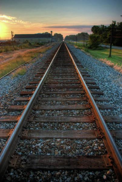 Wall Art - Photograph - Railroad Tracks by Jerad Heffner