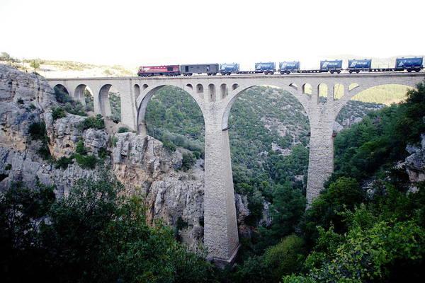 Physical Features Wall Art - Photograph - Railway Bridge, Adana by Balikcioglu