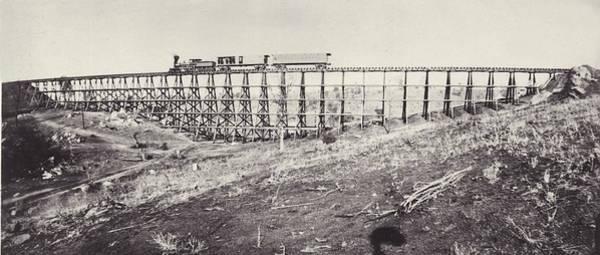 Wall Art - Photograph - Railway Bridge by Otto Herschan Collection