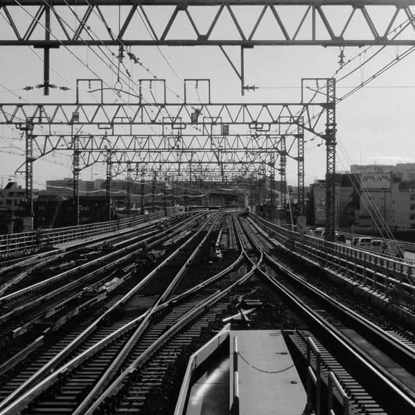 Photograph - Railway Tracks In Japan by Sner3jp