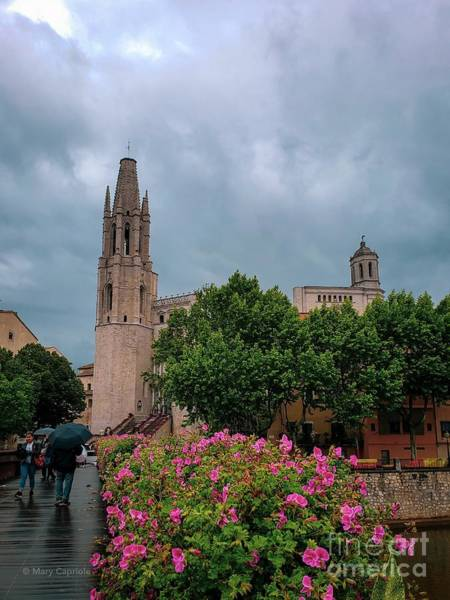 Photograph - Rain In Girona by Mary Capriole