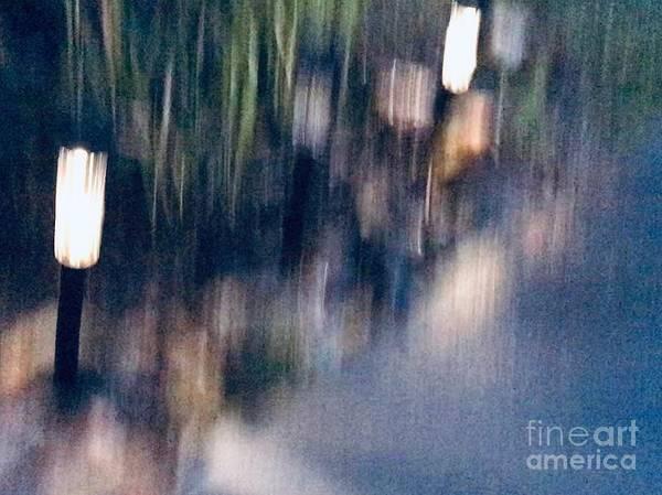 Wall Art - Mixed Media - Rain by Lavender Liu