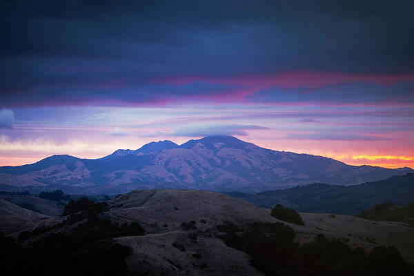 Wall Art - Photograph - Rain Return, Mount Diablo by Vincent James