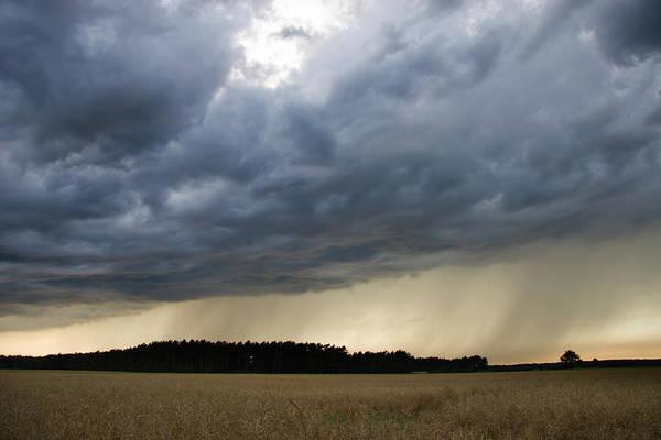 June Photograph - Rain Shower by Cschoeps