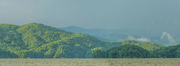 Photograph - Rainbow After Thunderstorm At Lake Jocassee South Carolina by Alex Grichenko