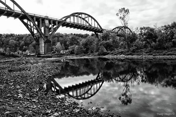 Photograph - Rainbow Arch Bridge by Wesley Nesbitt