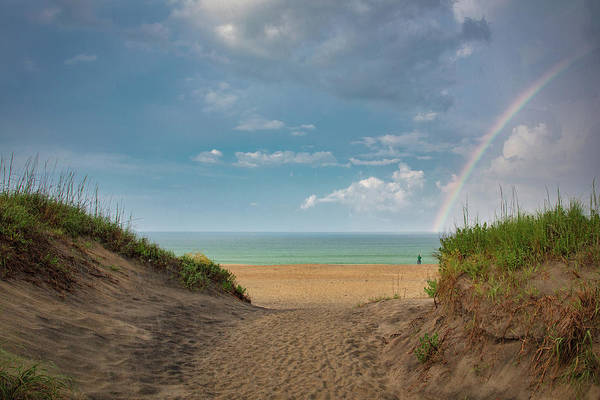 Photograph - Rainbow At Obx  by Emmanuel Panagiotakis