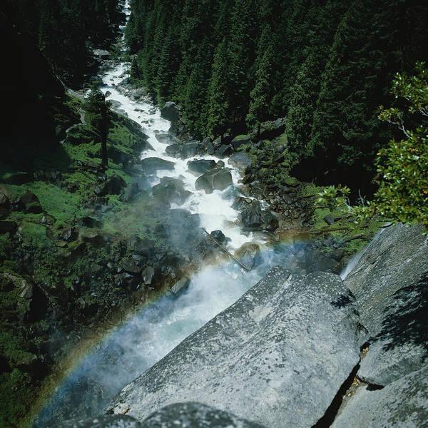 Vernal Fall Photograph - Rainbow At Vernal Falls by Paul Beard