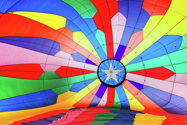Photograph - Rainbow Balloon by Nicole Young
