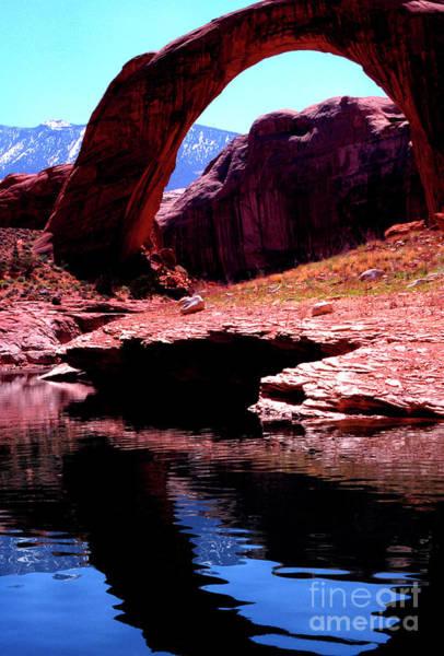 Photograph - Rainbow Bridge And Navajo Mountain by Thomas R Fletcher