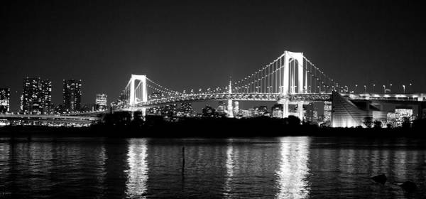 Photograph - Rainbow Bridge At Night by Xkhol