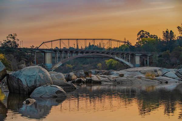 Photograph - Rainbow Bridge - Folsom, Ca by Jonathan Hansen