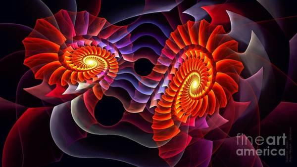 Digital Art - Rainbow Razors by Doug Morgan