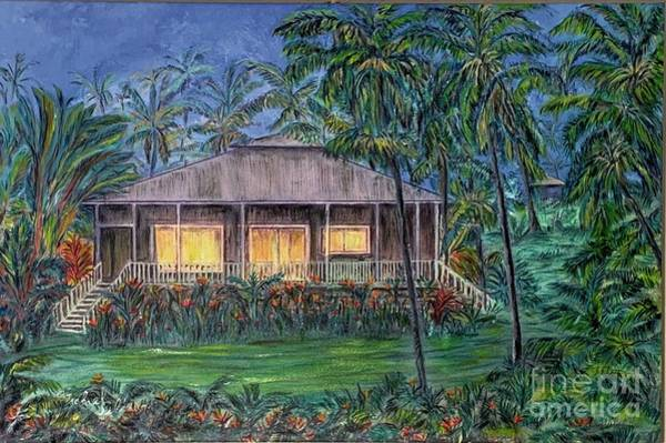 Wall Art - Painting - Rainbow Cottage by Michael Silbaugh