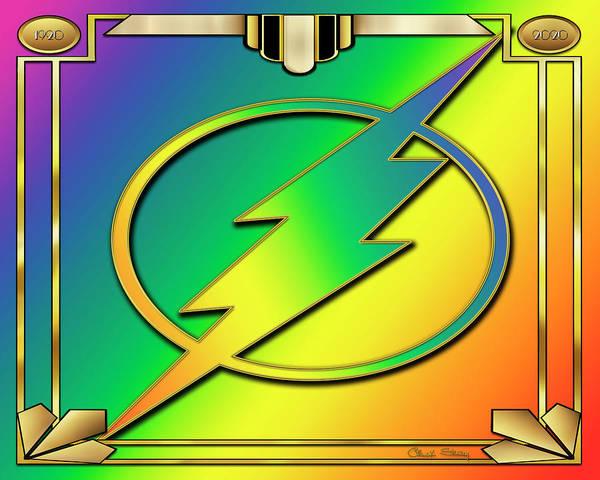 Digital Art - Rainbow Design 14 by Chuck Staley