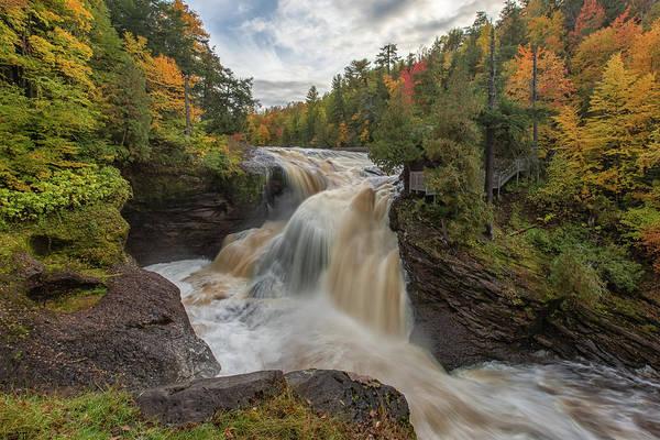 Photograph - Rainbow Falls 1 by Heather Kenward