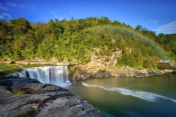 Photograph - Rainbow Falls by Michael Scott