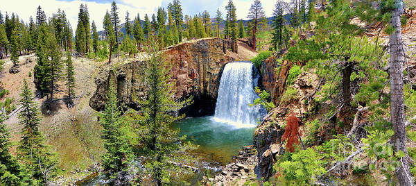 Digital Art - Rainbow Falls Panoramic by Joe Lach