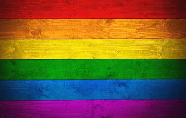 Wall Art - Digital Art - Rainbow Flag by Zapista Zapista
