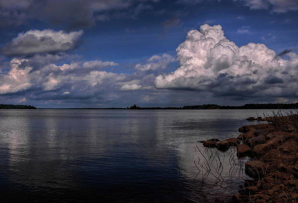 Photograph - Rainbow Flowage Cumulus Cloud by Dale Kauzlaric