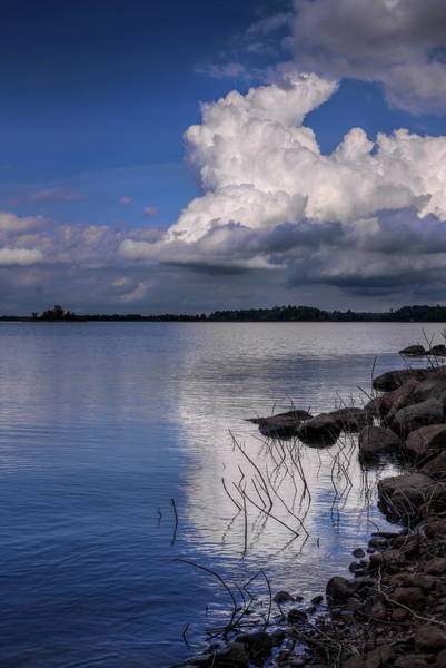 Photograph - Rainbow Flowage Cumulus Storm Cloud by Dale Kauzlaric