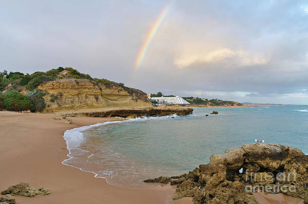 Photograph - Rainbow In Aveiros Beach by Angelo DeVal