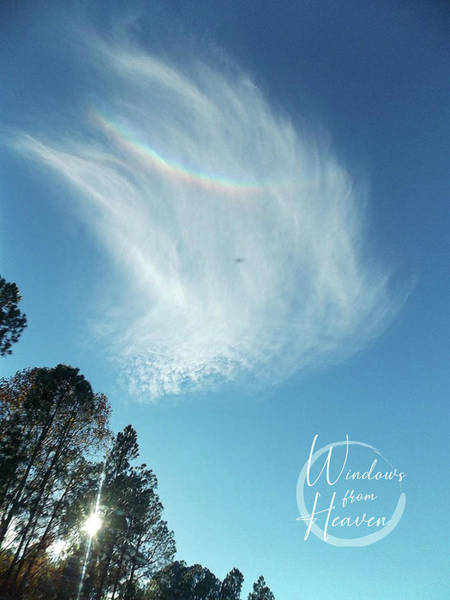 Photograph - Rainbow In The Clouds by Matthew Seufer