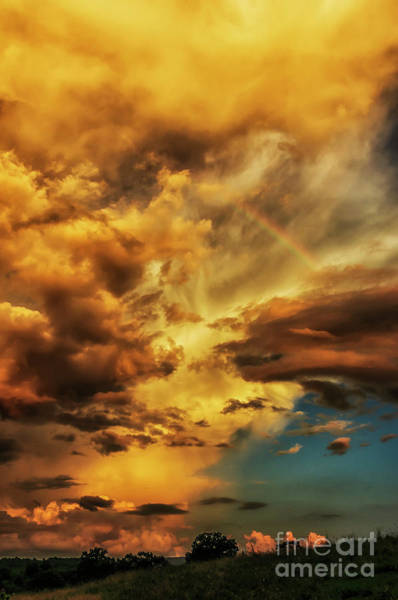 Photograph - Rainbow In The Clouds by Thomas R Fletcher