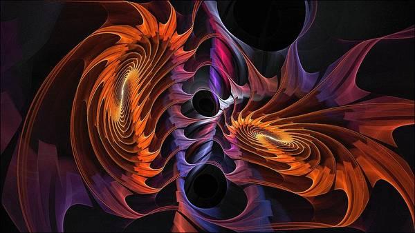 Rainbow Incursion Art Print