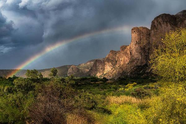 Wall Art - Photograph - Rainbow Over The River  by Saija Lehtonen