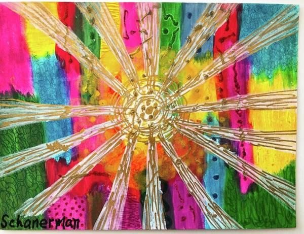 Painting - Rainbow Revelation by Susan Schanerman